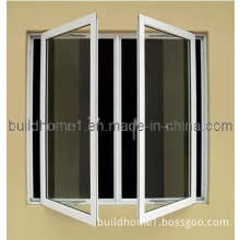 Heat Resistant Double Glazed Aluminium Casement Window