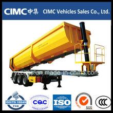 Cimc 3-Axle 30 ~ 35m3 Tipping Tipper Semirremolque con el precio más bajo