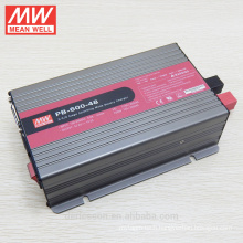 120W to 1000W original meanwell 3 years warranty UL CE TUV 600W 48 volt battery charger PB-600-48