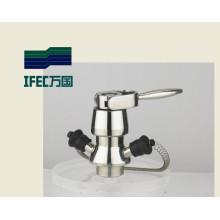 Válvula de muestreo aséptica sanitaria de acero inoxidable