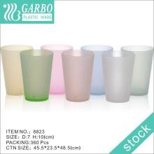 Copo de água colorido de plástico 470ml 8823