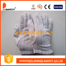 Nylon Stitched Gloves with Hem, Anti-Static Gloves (DCH118)