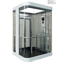 Ascenseur panoramique transparent pour vente chaude