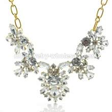 Pellucid Acrylic Beads For Rich Culture Ladies Necklace
