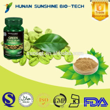 En gros alibaba médecine du sexe pour les femmes Vert Extrait de Grain de Café Gélules acide chlorogénique