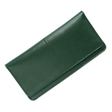 Moda Couro Lady Minimalist Wallet Holder Purse