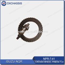 Engrenagem de pinhão de roda de coroa de NQR 700P genuína 7:41 8 NPR-7: 41
