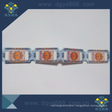 Silver Hologram Thread Strip in Roll