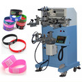 silicone wristband silk screen printing machine