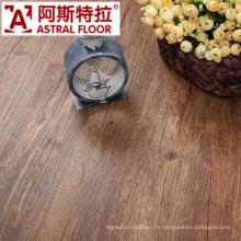 Plancher décoratif d'intérieur de longue vie de WPC de forme physique