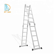 Aluminum Platform Foldable Ladder 4*2 steps