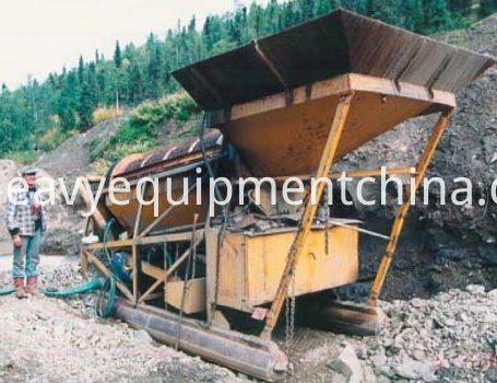 Mobile Trommel Washing Plant