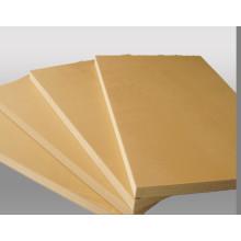 Matériaux de construction bon marché à haute résistance / Modèle de bâtiment WPC 915 * 1830 * 15