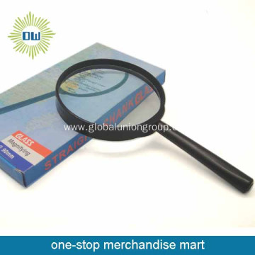Handheld magnifying glass with different size
