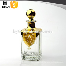 wholesale custom made 200ml square empty Glass Reed Diffuser Bottle decorative