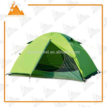205 * 190 * 110cm duplo duplo camada impermeável pessoa ao ar livre acampar barraca de piquenique de engrenagem durável