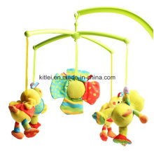 Musical Soft Stuffed Crib Spinning Windring Rotated Baby Plush Kids Toys