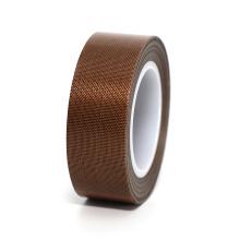 Антипригарная коричневая клейкая лента из стекловолокна PTFE