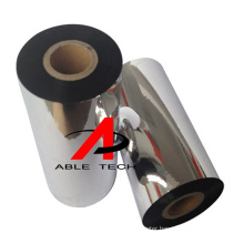 Resin ribbon Custom Printing Premium Zebra Thermal Transfer Enhanced Printer Wax Ribbon Roll  Black Western Resin