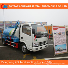 Dongfeng 4*2 Fecal Suction Trucks 180HP