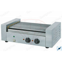 Electric Rolling Hot Dog Grill , Commercial Kitchen Equipments