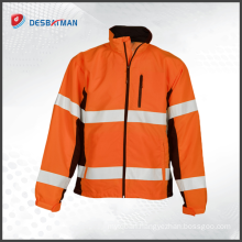 Factory manufacturer custom 3m hi vis safety reflective workwear overalls china