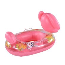flotador inflable de la natación del bebé del conejo