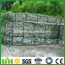Hot Dipped Galvanized river bank protect gabion basket/gabion box