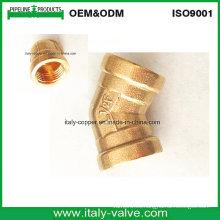Codo de forjado 45deg de latón personalizado (IC1002A)
