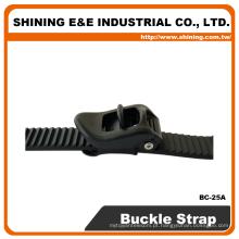 BC25A-BL15A correia de fivela de corte rápido de plástico