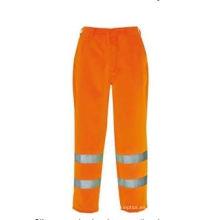 Pantalones de seguridad de alta visibilidad, tela Oxford de poliéster, En / ANSI
