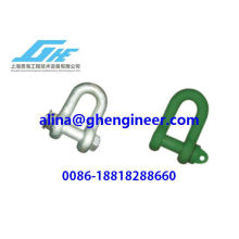 High-intensity Straight (D) Shackles (American Standard shackle)