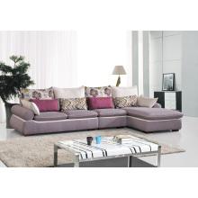 Canapé en coin de tissu moderne pour salon