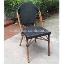 TC- (5) Silla moderna de la tela del teslin / silla que cena del textil