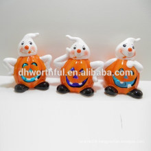 New arrival ceramic LED halloween decorations