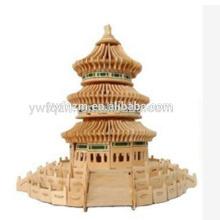 pädagogisches Puzzlespielspiel Holz Pyramide Puzzle Spielzeug