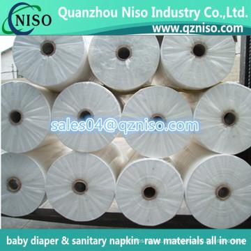 Мягкий СНО Non сплетенные ткани для пеленок младенца