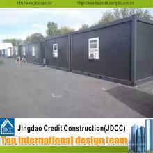 Dunkle Farbe Container Arbeiter Unterkunft