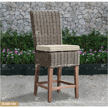 ALAND COLLECTION - Hot trendy 2017 UV résistance Wicker PE Rattan Bar set table et 2 chaises Outdoor Garden Furniture