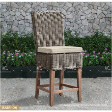 ALAND COLLECTION - Hot trendy 2017 UV resistance Wicker PE Rattan Bar set table and 2 chairs Outdoor Garden Furniture