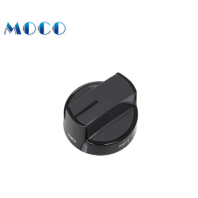 high quality kitchen spare parts of plastic electric temperature range oven knob