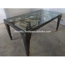 Steam Punk Gear Moving Dining table