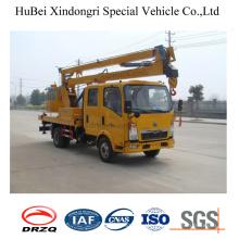 Sinotruck 16m High Altitude Aerial Working Platform Truck