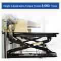 """Loctek 35 """"Wide Platform Höhenverstellbarer Standfuß Riser, Sit-Stand Workstation, Weiß (MT101M)"""