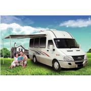 Το Iveco Τραβείο B Τύπος Caravan Euro4