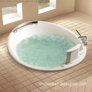 Top Luxury Concealed Air Massage Bathtub with LCD TV