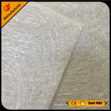 Esteira de fibra de vidro picado e esteira de vidro