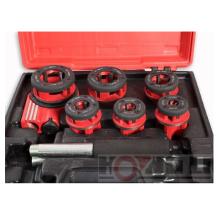 """Kit para roscar de trinquete de tubo / Trinquete Die Stock / Rosca para tubo manual de 1/4 """"a 1-1 / 4"""""""