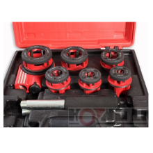 "Ratchet Pipe Threading Kit / Ratchet Die Stock/ Manual Pipe Threader 1/4"" to 1-1/4"""