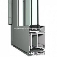 Système à charnière personnalisé Double vitrage Porte en aluminium